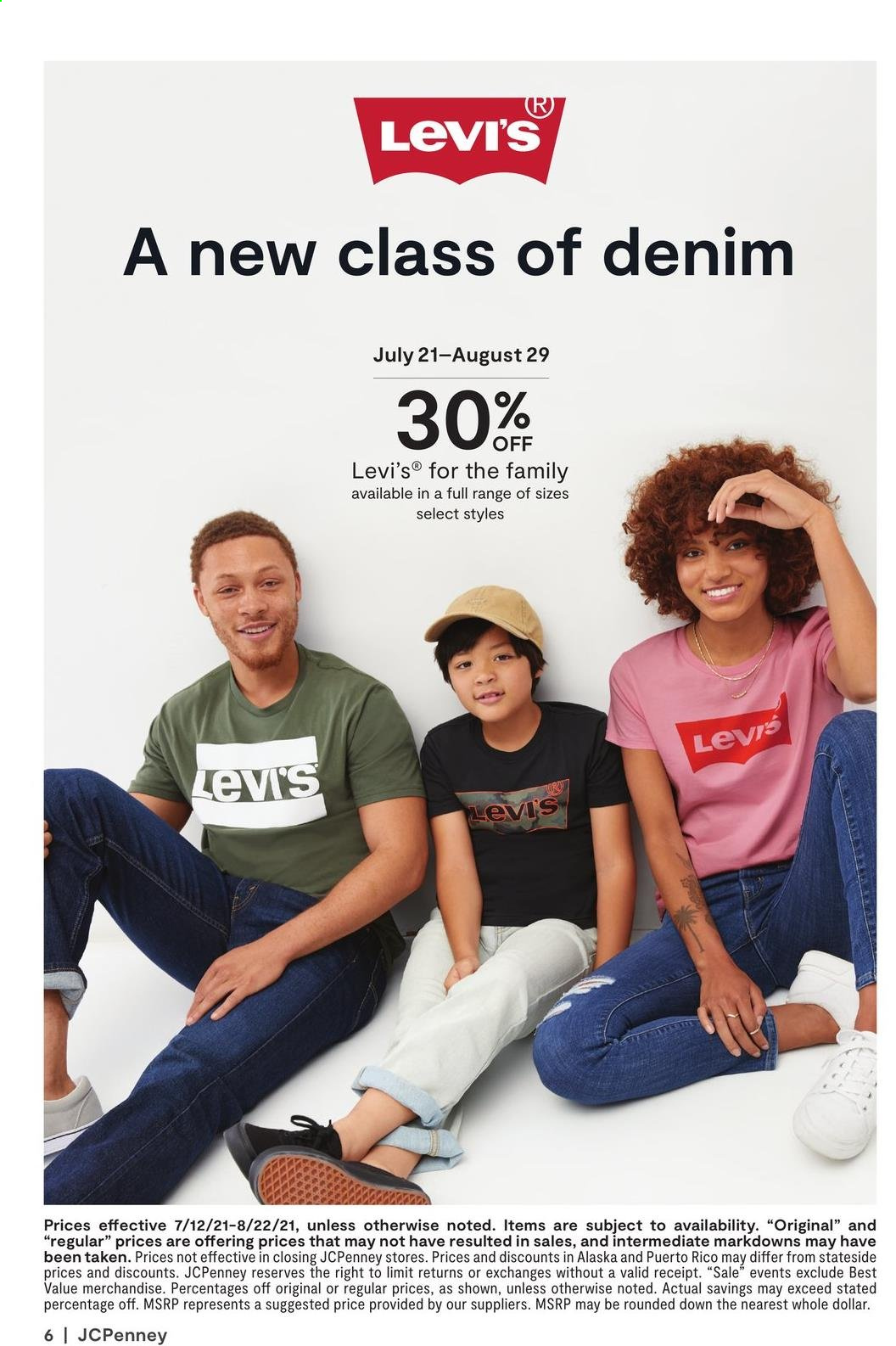 JCPenney Ad from july 12 to august 22 2021 - Page 10
