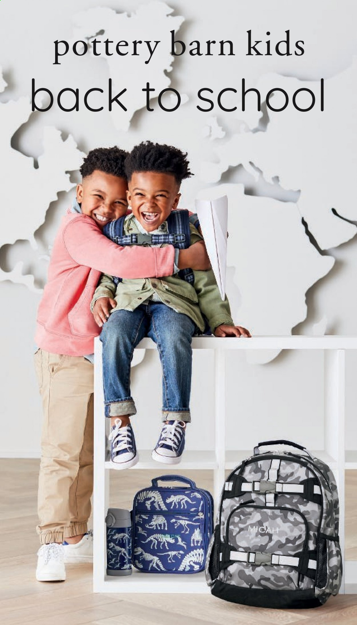 Pottery Barn Ad Kids - Back to School 2021 - Page 1