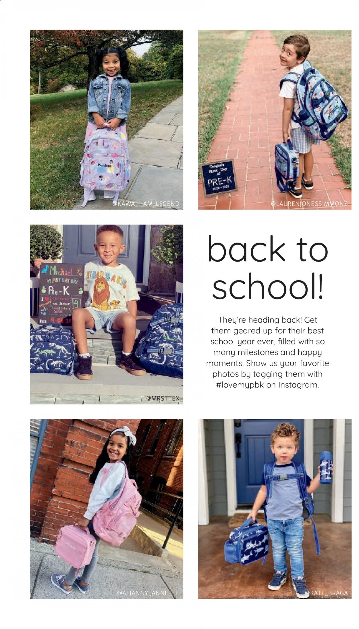 Pottery Barn Ad Kids - Back to School 2021 - Page 2