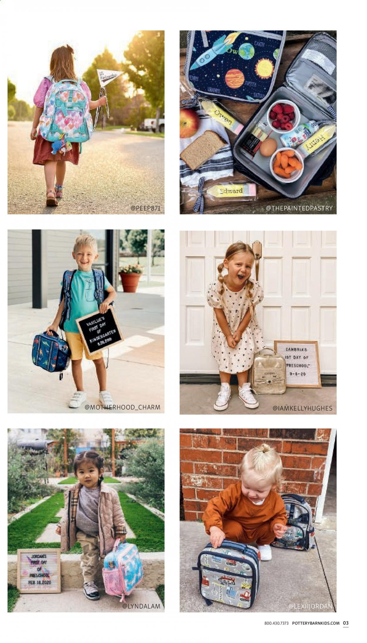 Pottery Barn Ad Kids - Back to School 2021 - Page 3