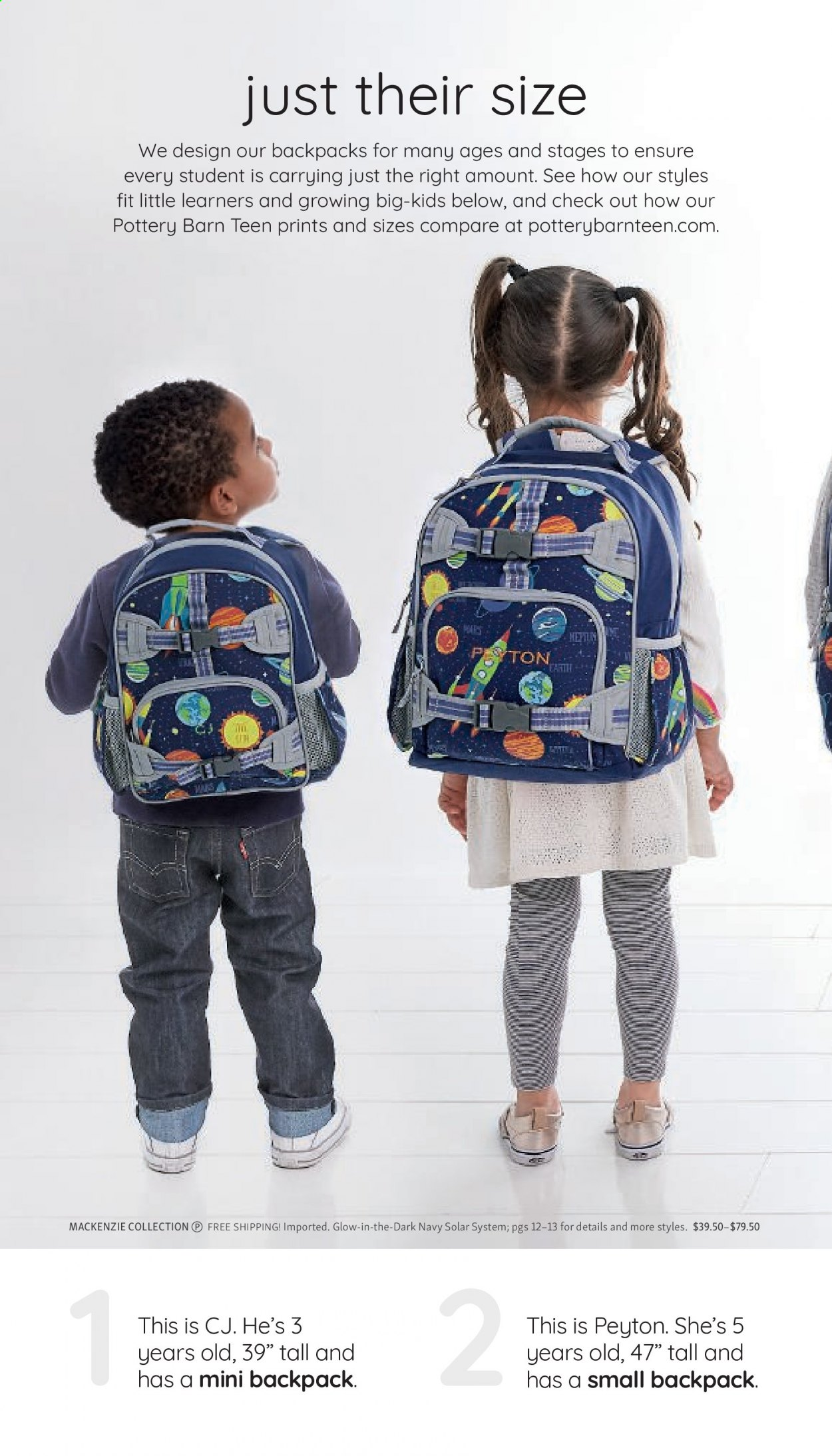 Pottery Barn Ad Kids - Back to School 2021 - Page 6