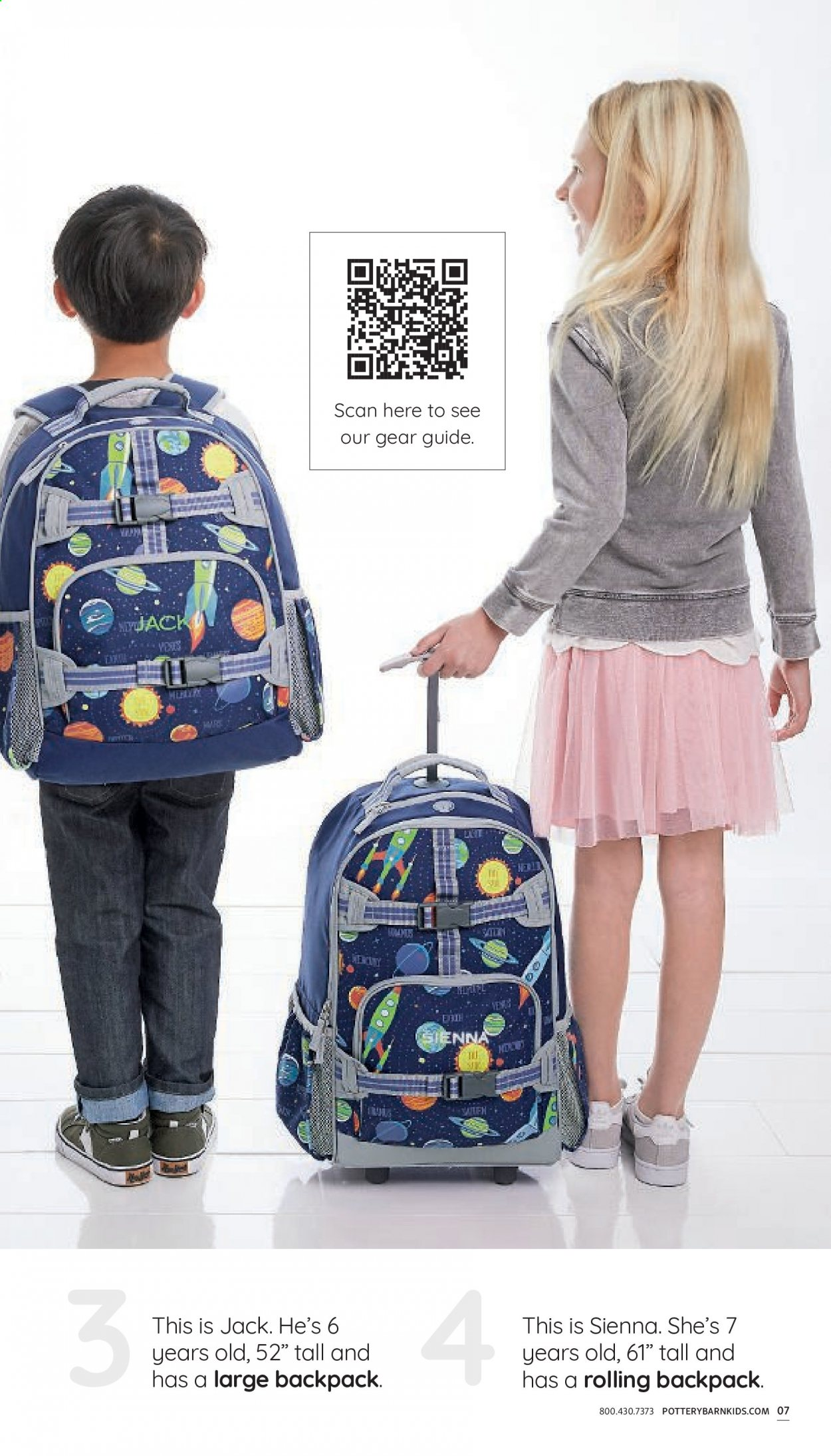 Pottery Barn Ad Kids - Back to School 2021 - Page 7
