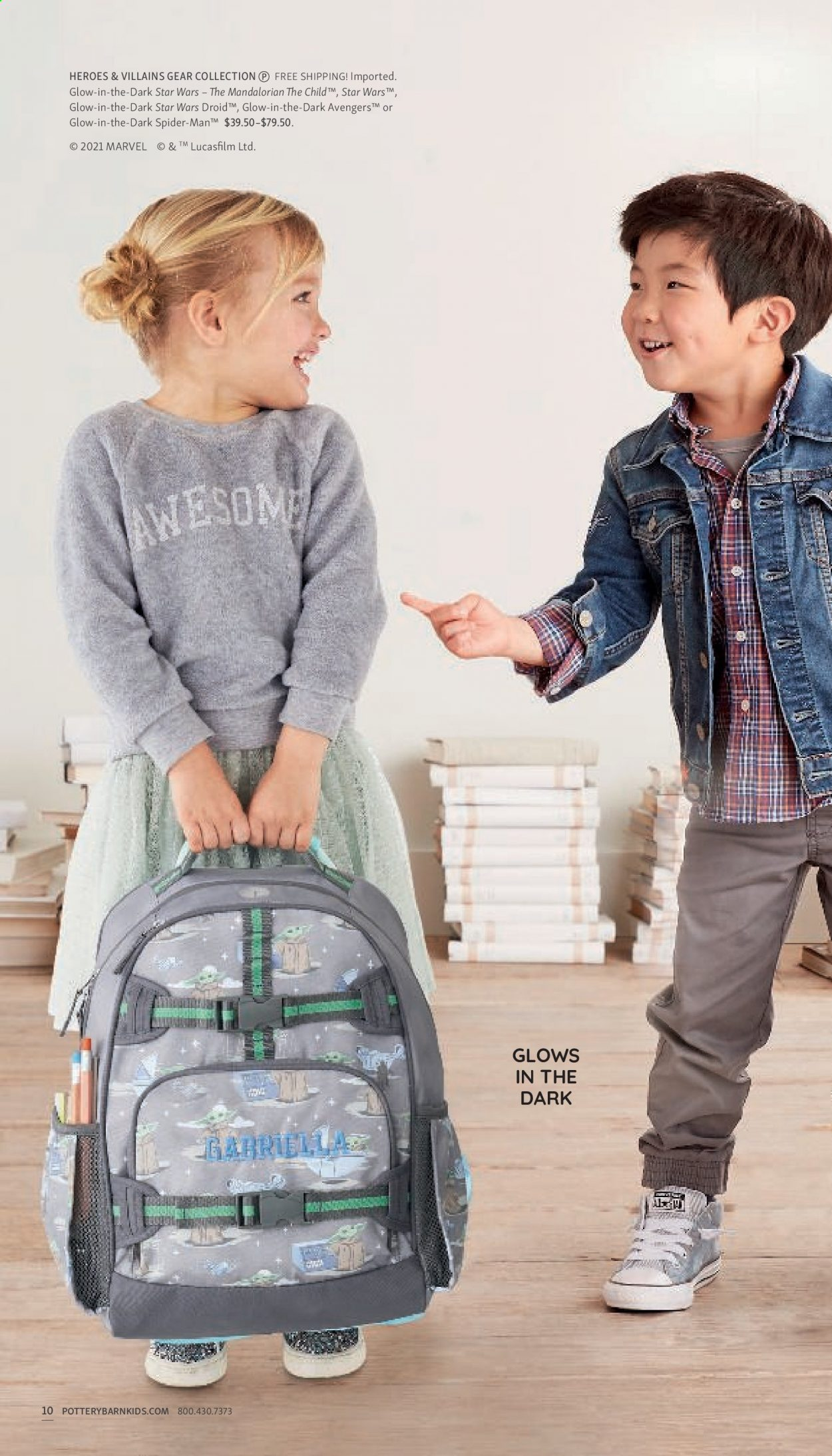 Pottery Barn Ad Kids - Back to School 2021 - Page 10