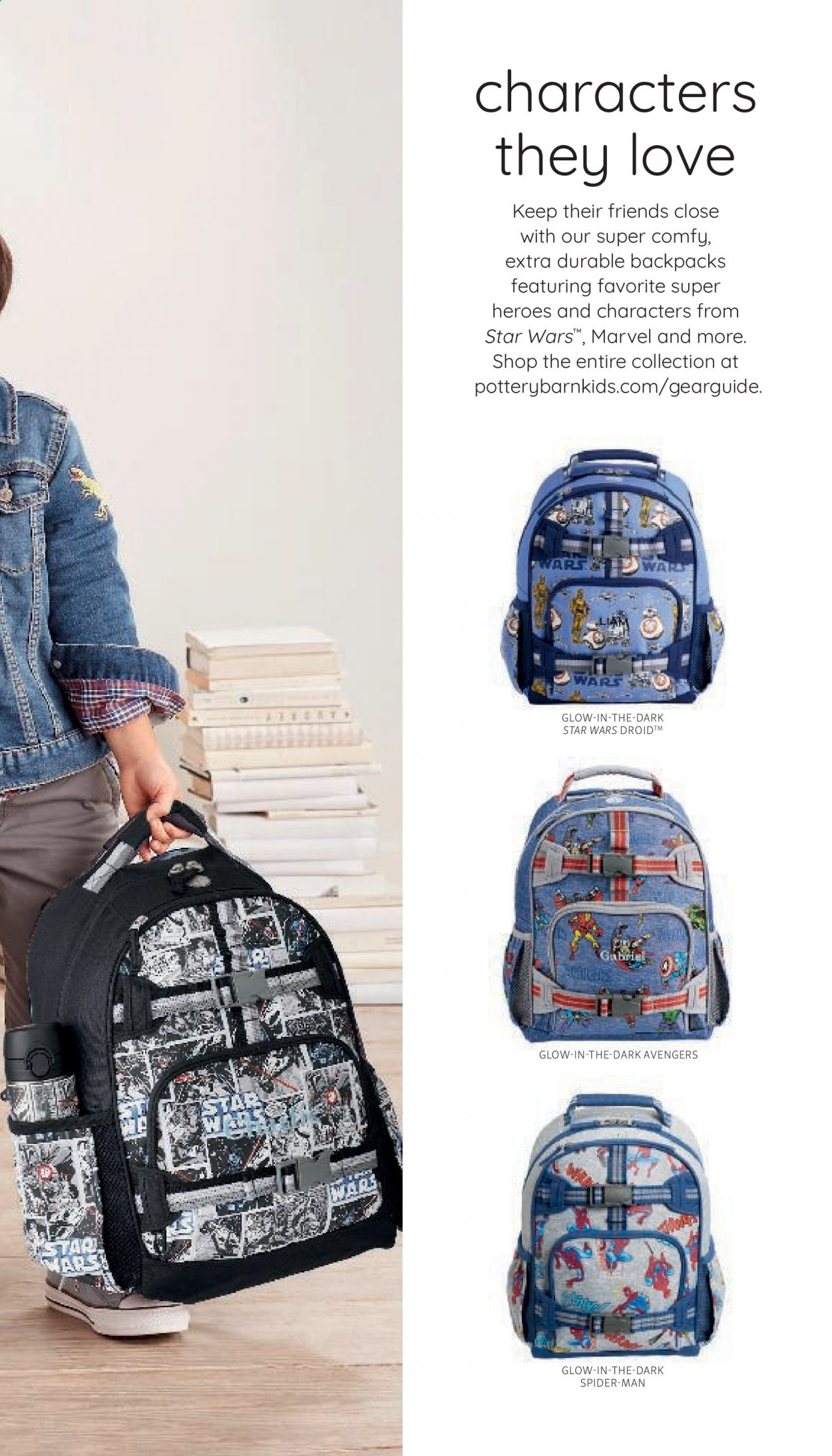 Pottery Barn Ad Kids - Back to School 2021 - Page 11