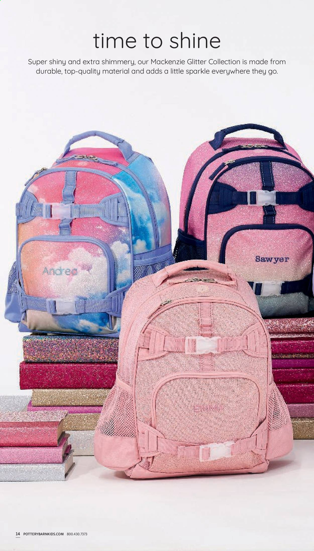 Pottery Barn Ad Kids - Back to School 2021 - Page 14