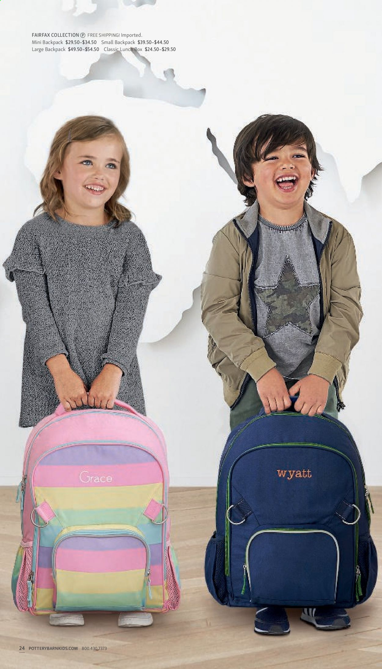 Pottery Barn Ad Kids - Back to School 2021 - Page 24