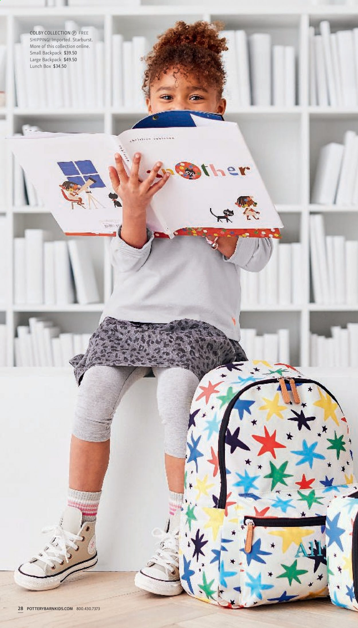 Pottery Barn Ad Kids - Back to School 2021 - Page 28
