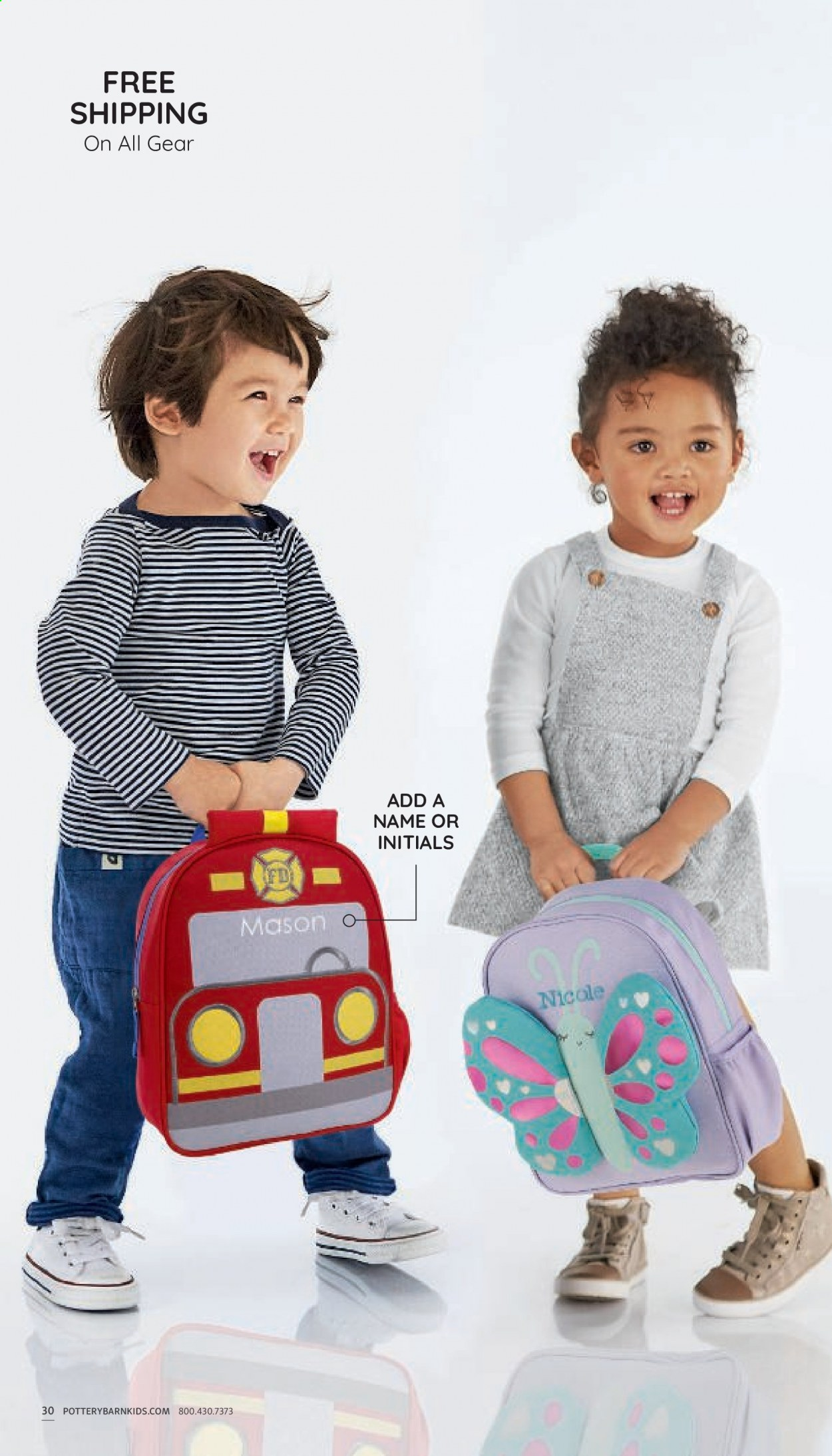 Pottery Barn Ad Kids - Back to School 2021 - Page 30