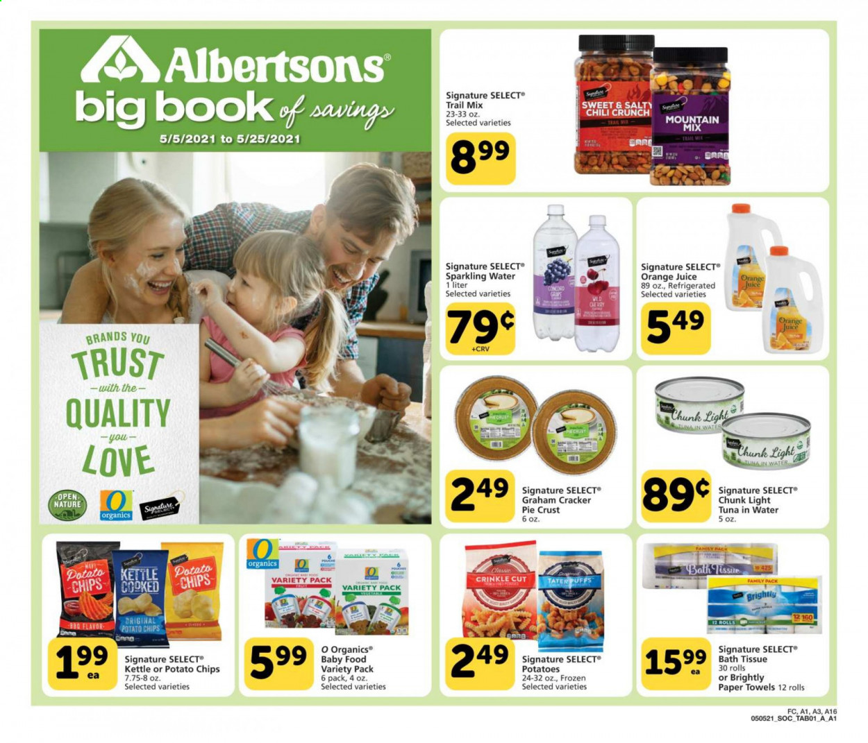 Albertsons Ad from may 5 to 25 2021