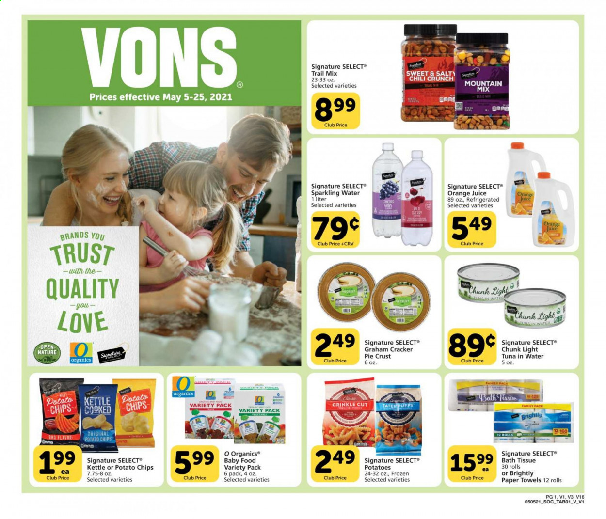 Vons Ad from may 5 to 25 2021