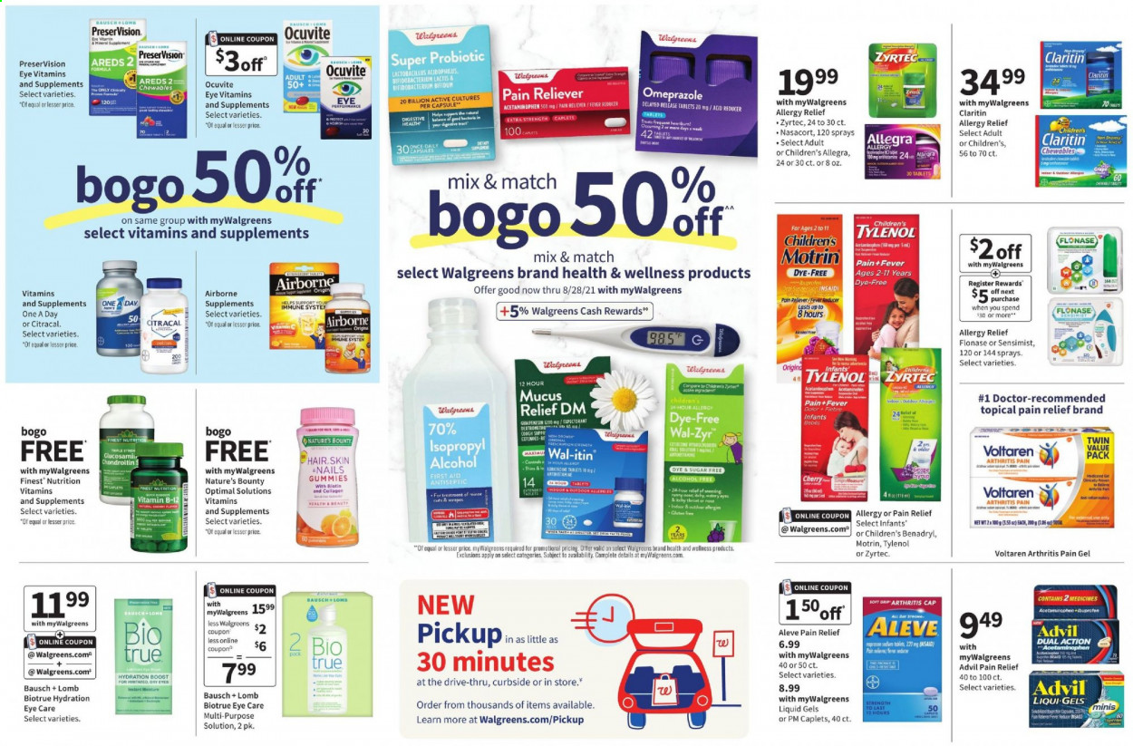 Walgreens Ad from july 18 to 24 2021 - Page 13