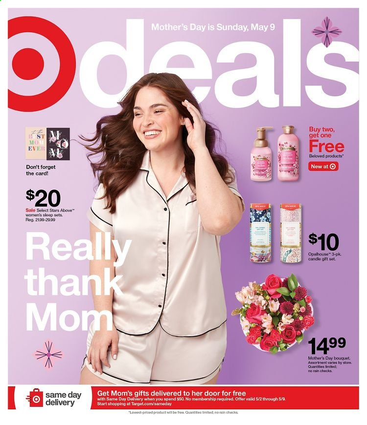 Target Ad from may 2 to 8 2021