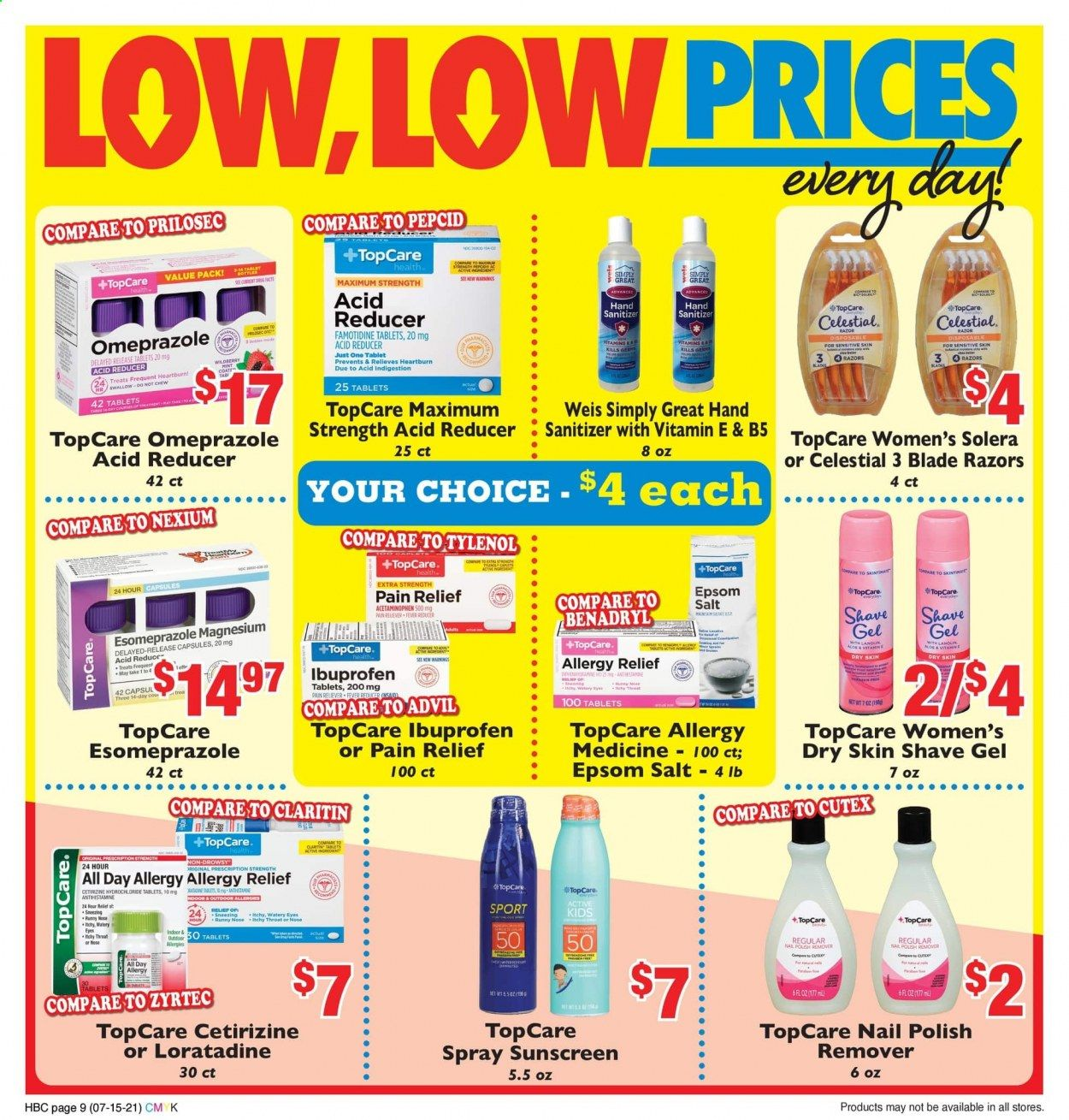 Weis Markets Ad from july 15 to august 19 2021 - Page 9