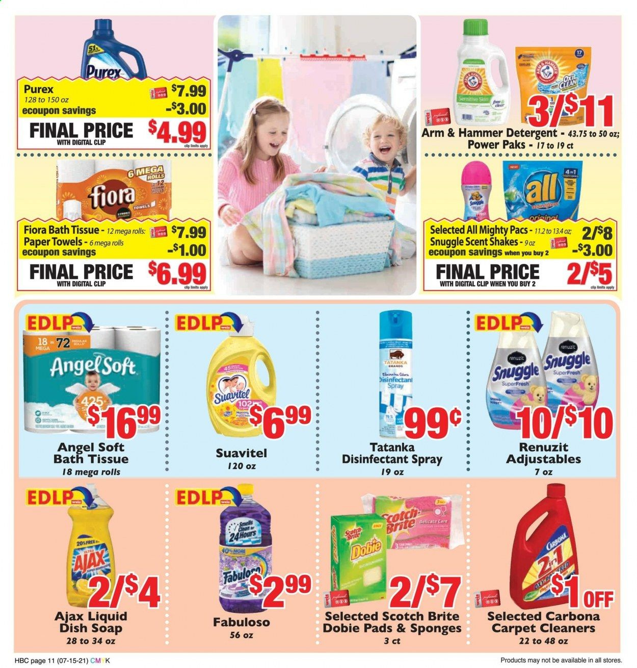 Weis Markets Ad from july 15 to august 19 2021 - Page 11