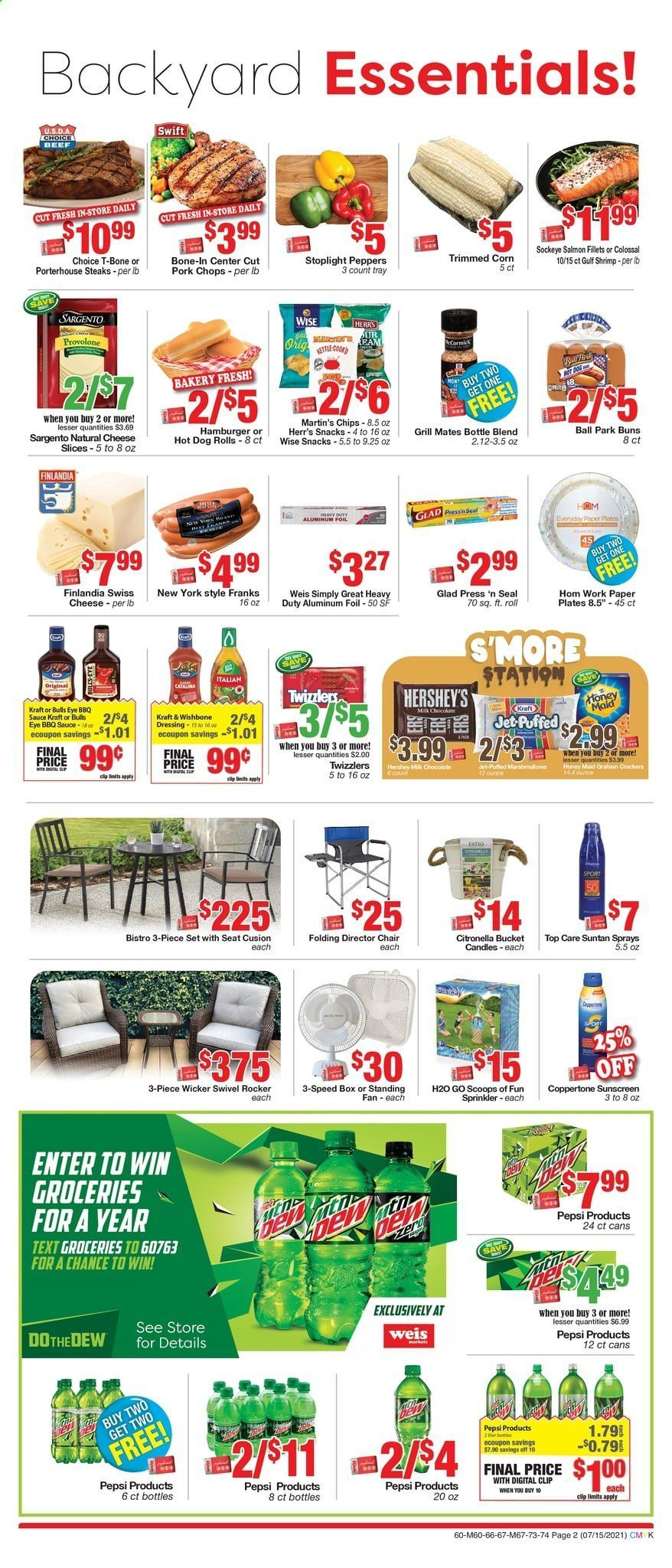 Weis Markets Ad from july 15 to august 19 2021 - Page 2