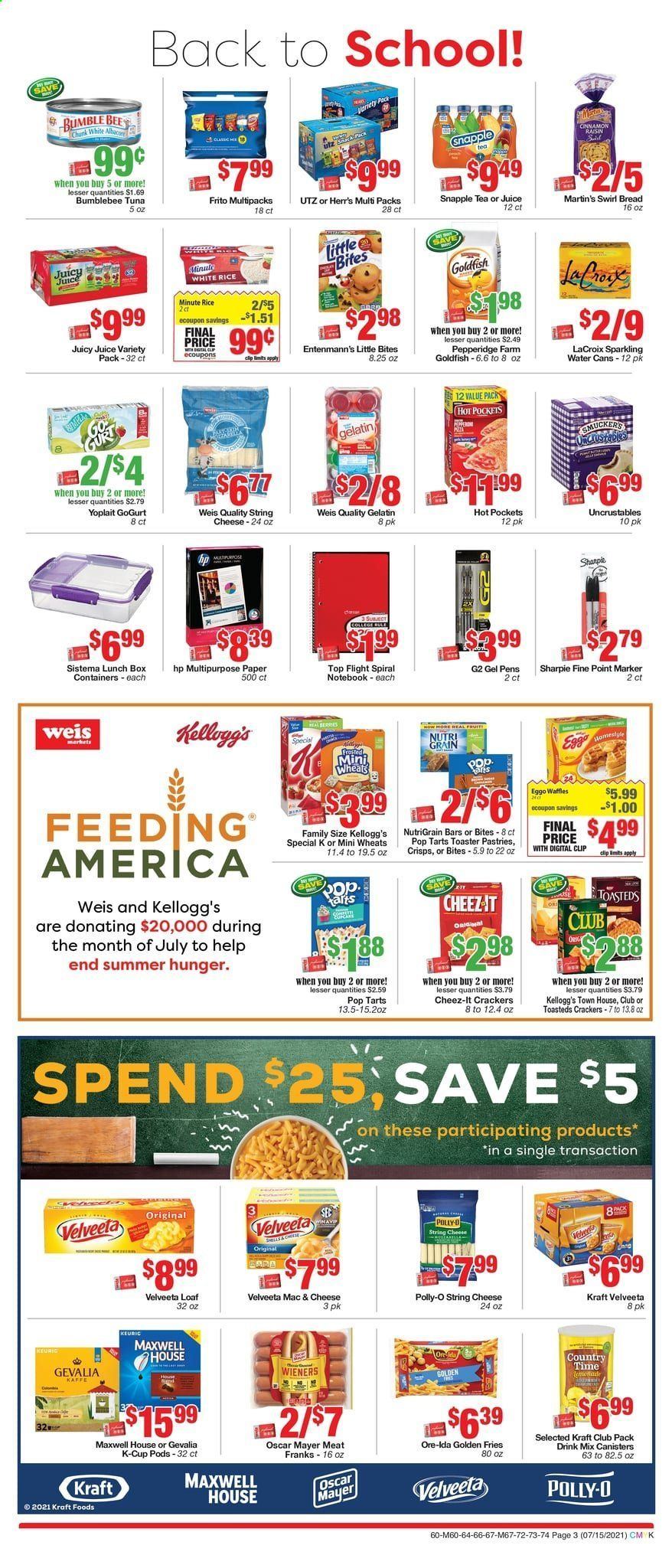 Weis Markets Ad from july 15 to august 19 2021 - Page 3