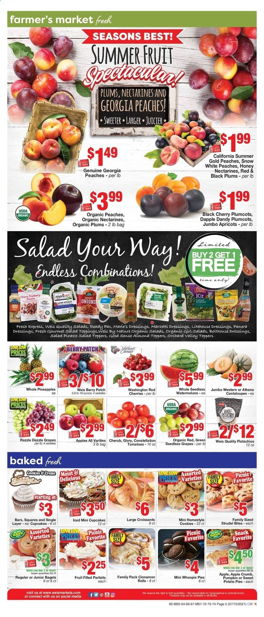 Weis Markets Ad from july 15 to august 19 2021 - Page 5
