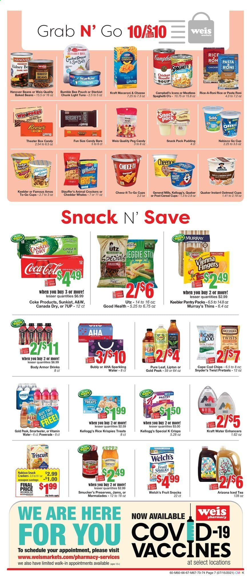 Weis Markets Ad from july 15 to august 19 2021 - Page 7