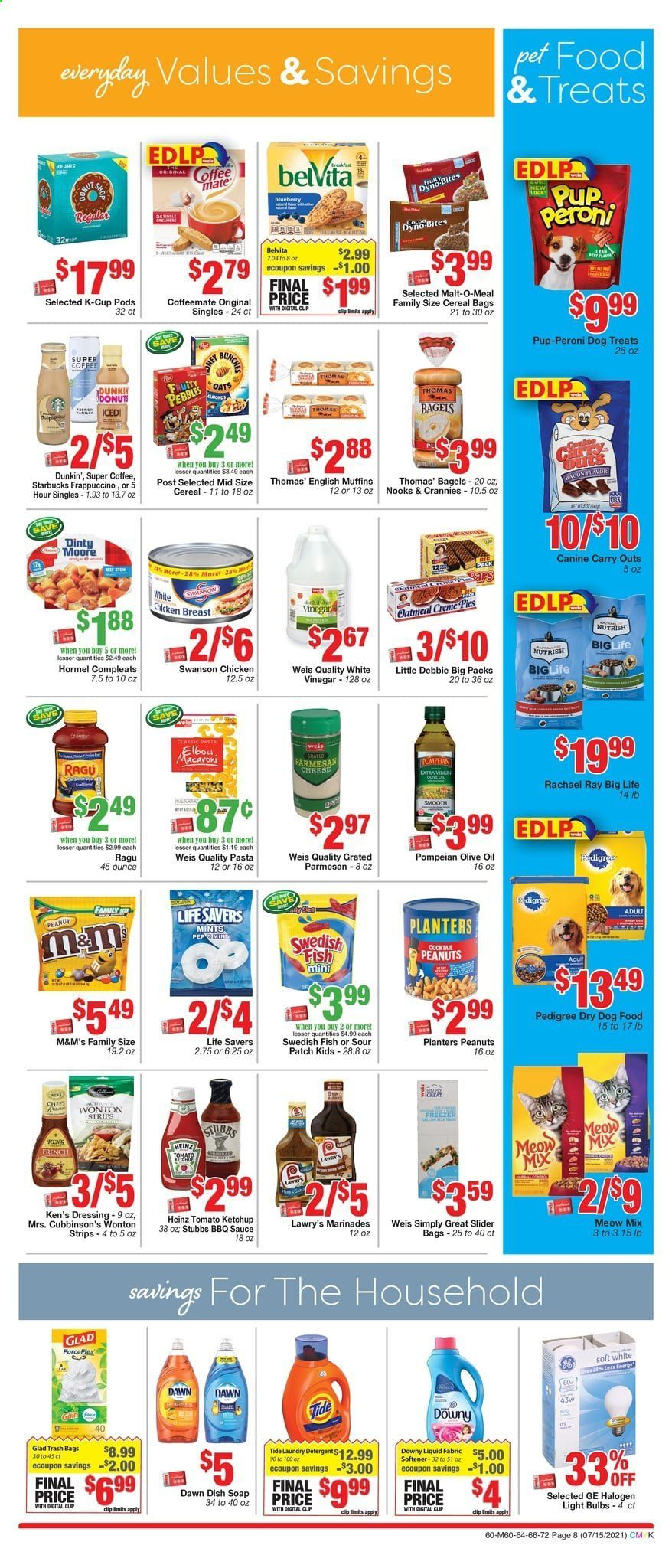 Weis Markets Ad from july 15 to august 19 2021 - Page 8