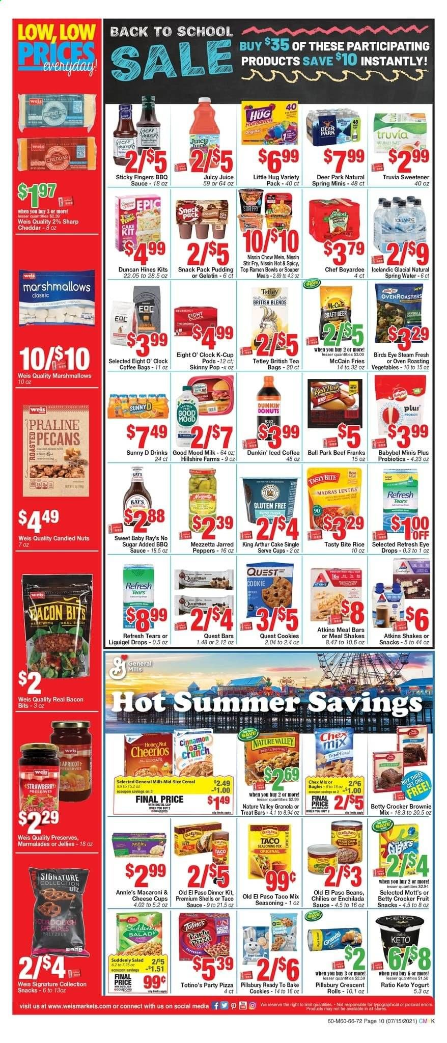 Weis Markets Ad from july 15 to august 19 2021 - Page 10