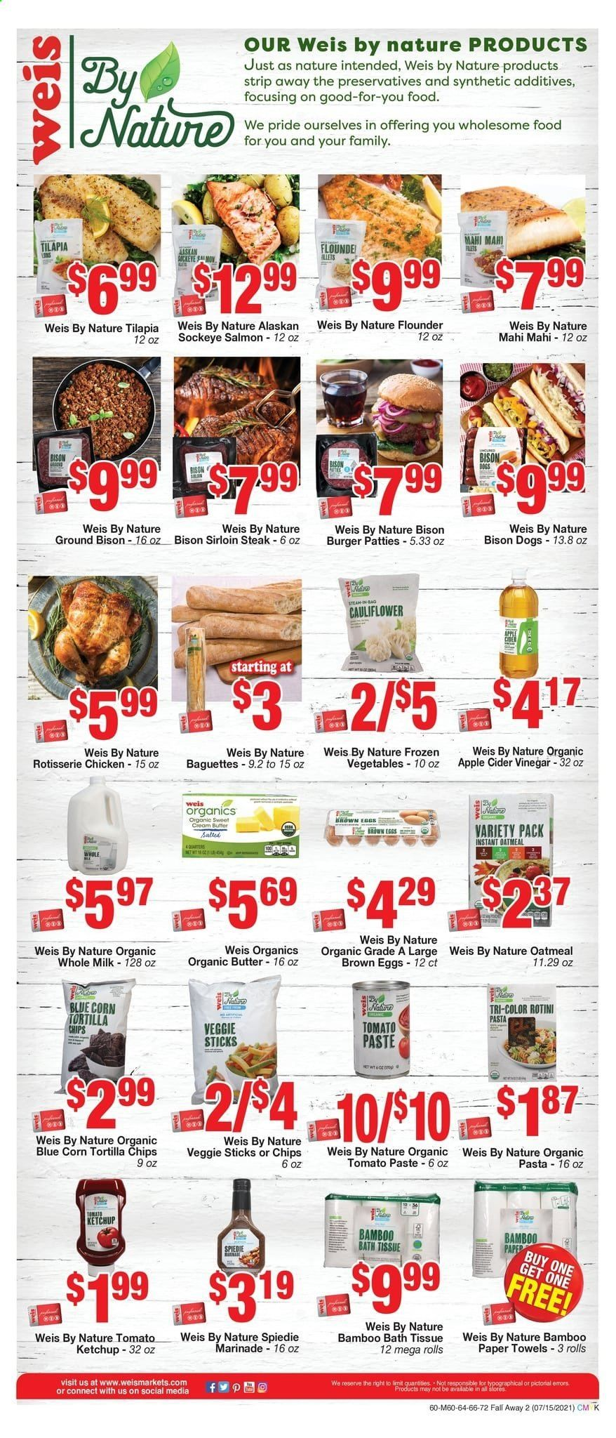 Weis Markets Ad from july 15 to august 19 2021 - Page 12