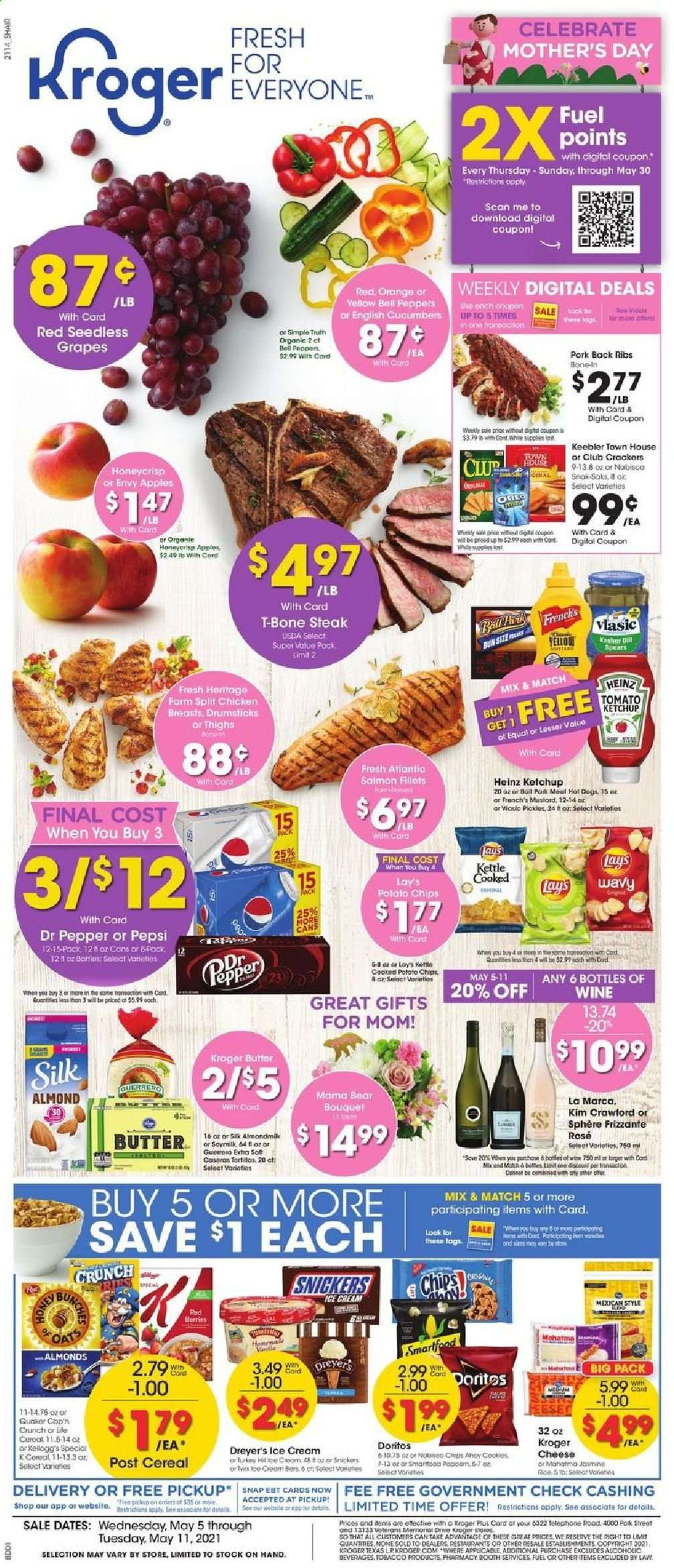 Kroger Ad from may 5 to 11 2021