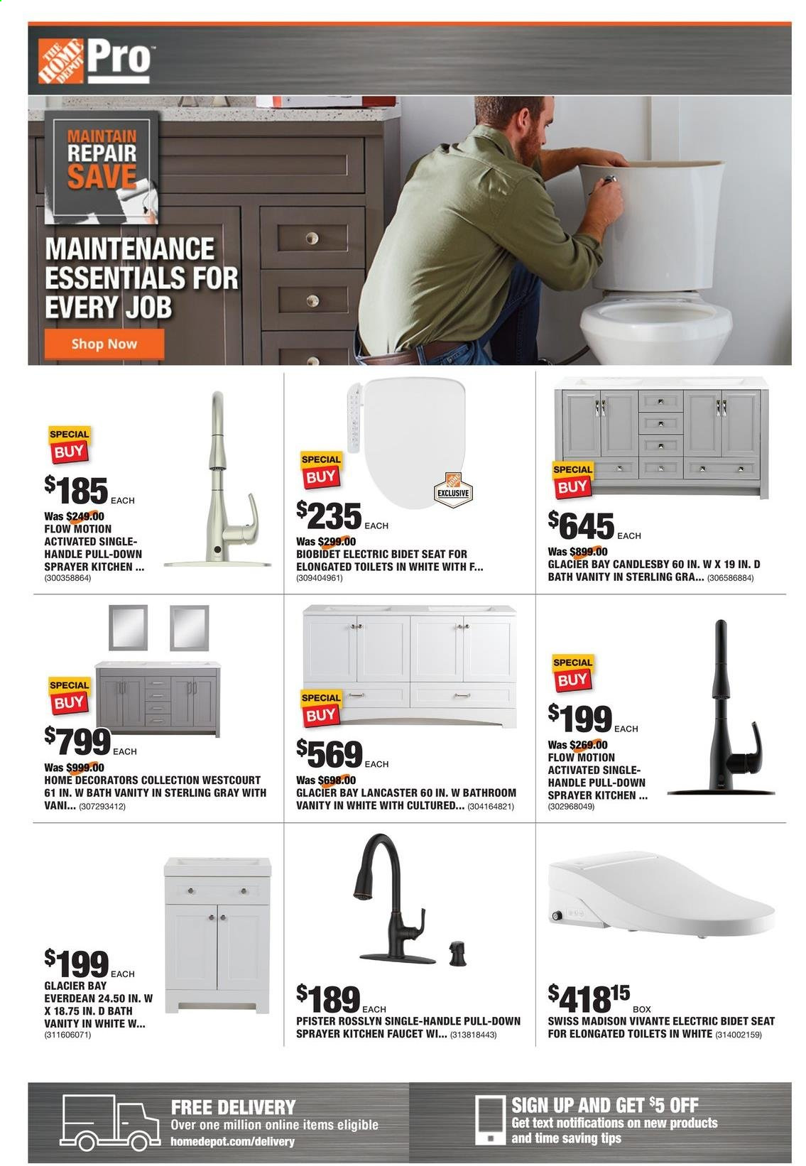 Home Depot - Shop PRO Ad from may 3 to 10 2021