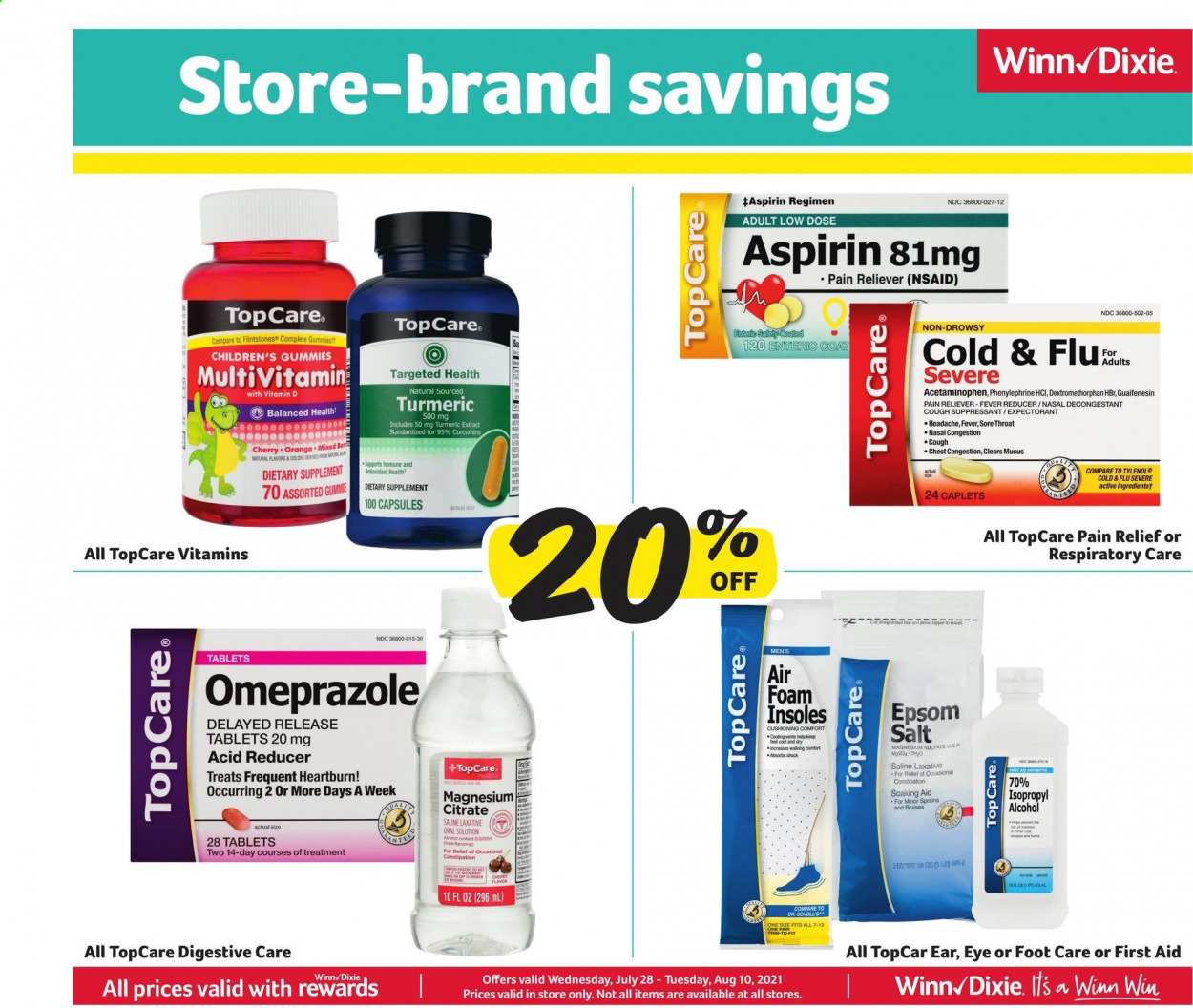 Winn-Dixie Ad from july 28 to august 10 2021 - Page 7