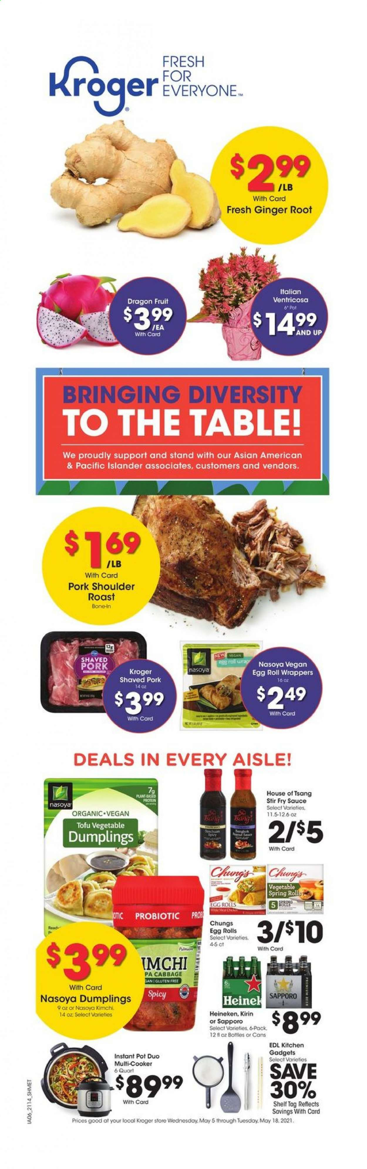 Kroger Diversity Ad from may 5 to 19 2021