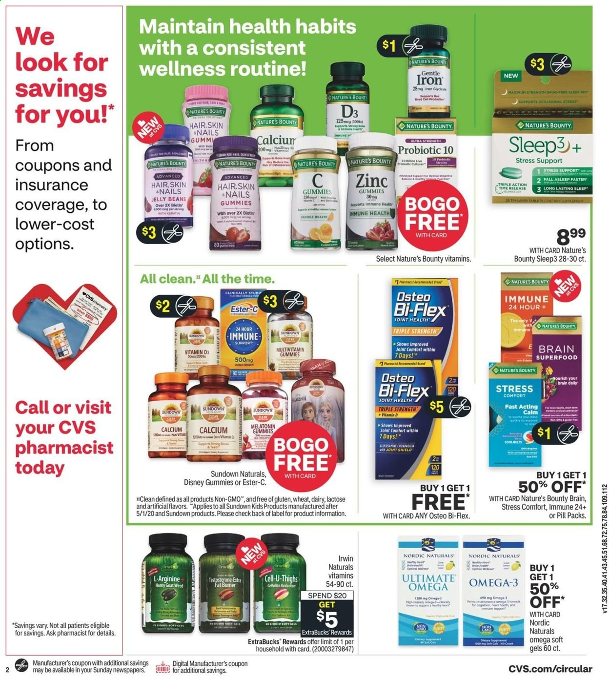 CVS Pharmacy Ad from august 1 to 7 2021 - Page 3