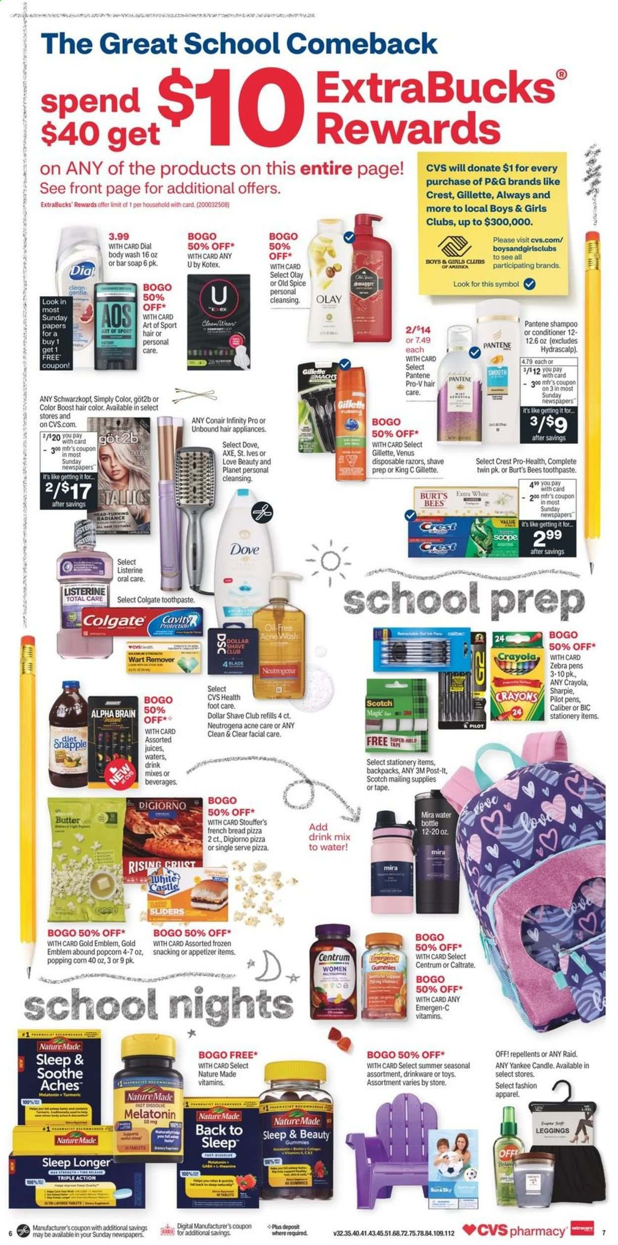 CVS Pharmacy Ad from august 1 to 7 2021 - Page 8