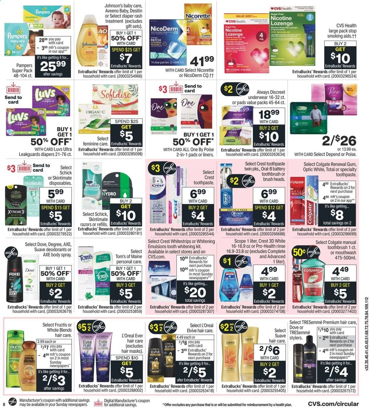 CVS Pharmacy Ad from august 1 to 7 2021 - Page 10