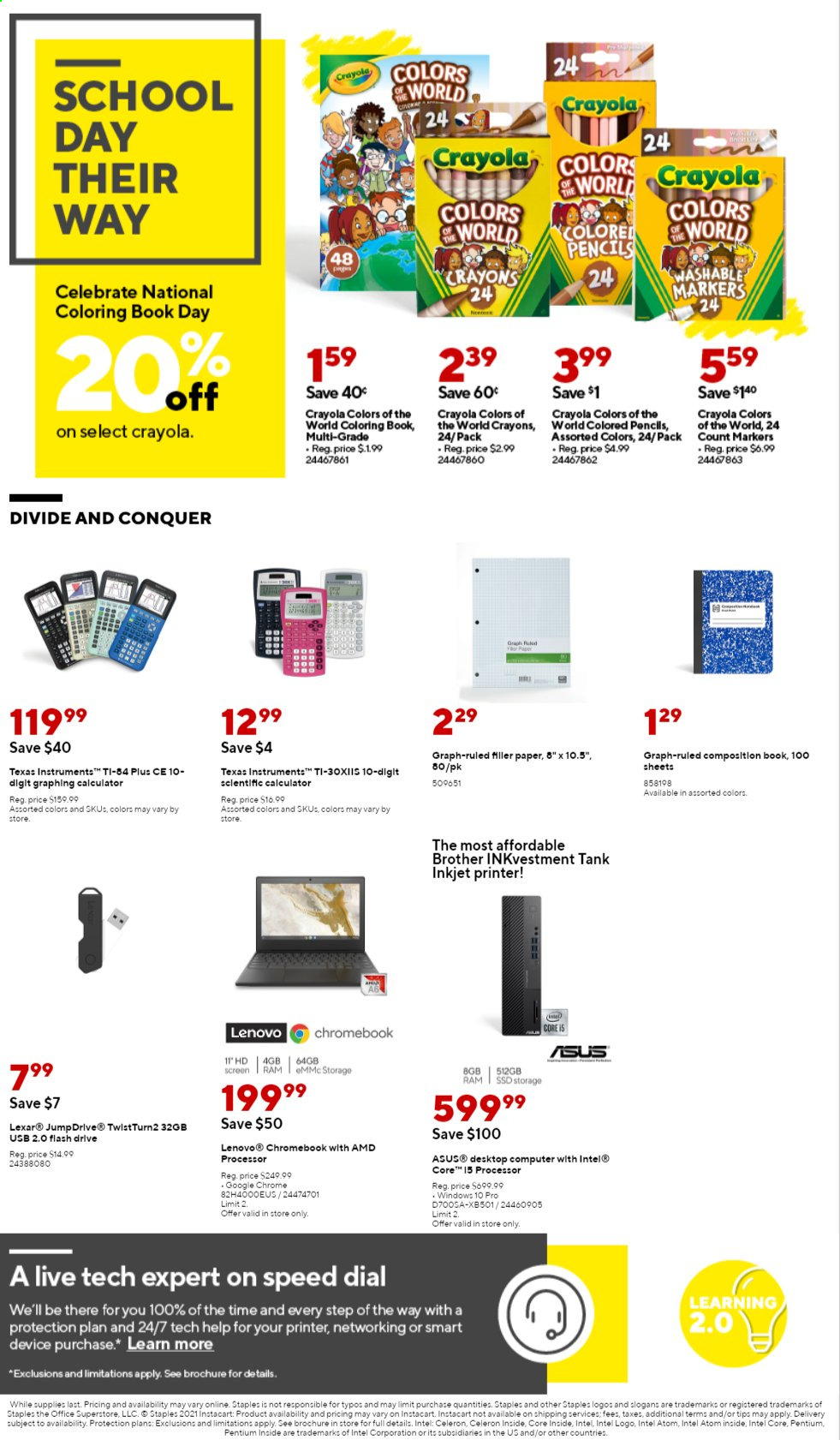 Staples Ad from august 1 to 7 2021 - Page 2