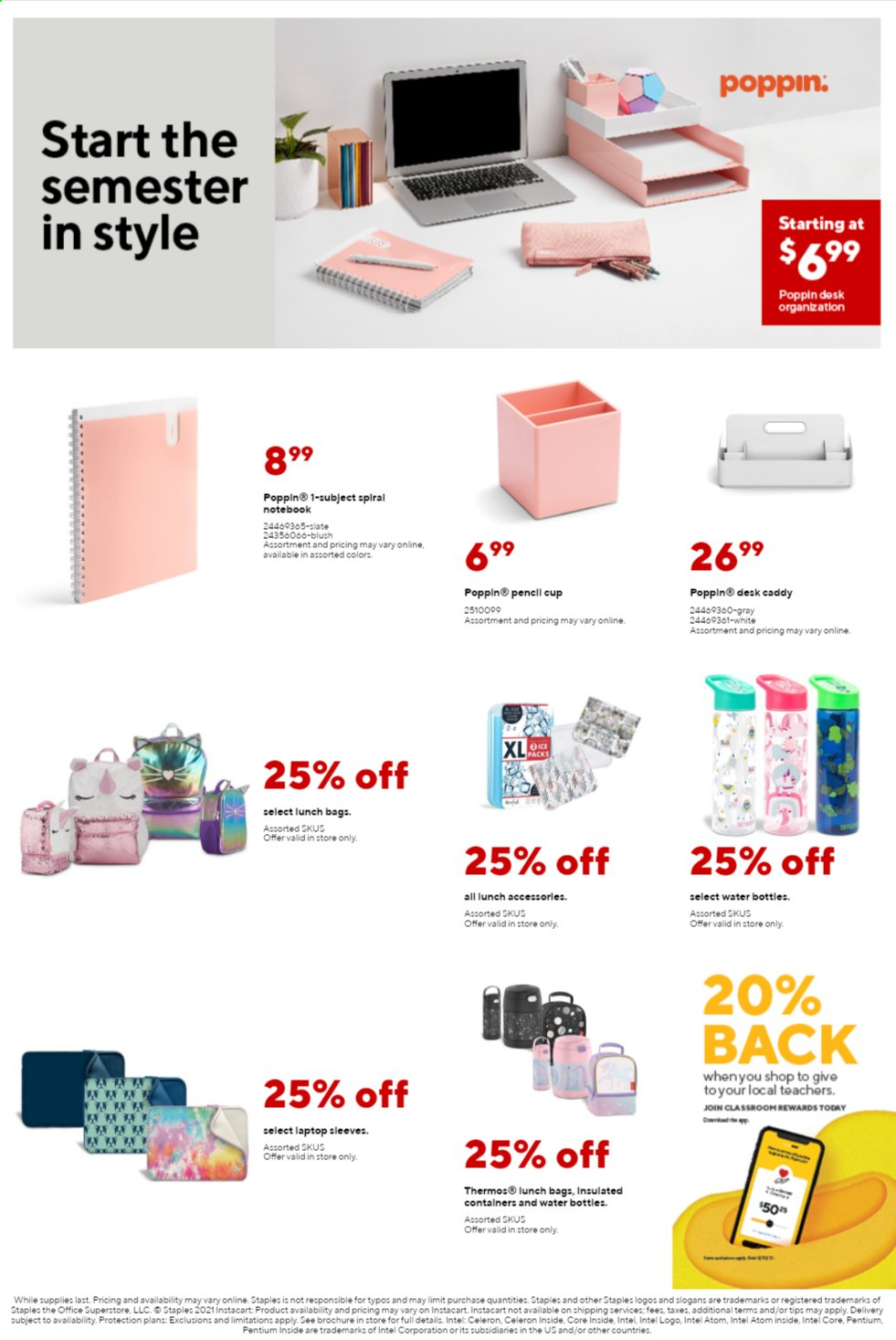 Staples Ad from august 1 to 7 2021 - Page 8