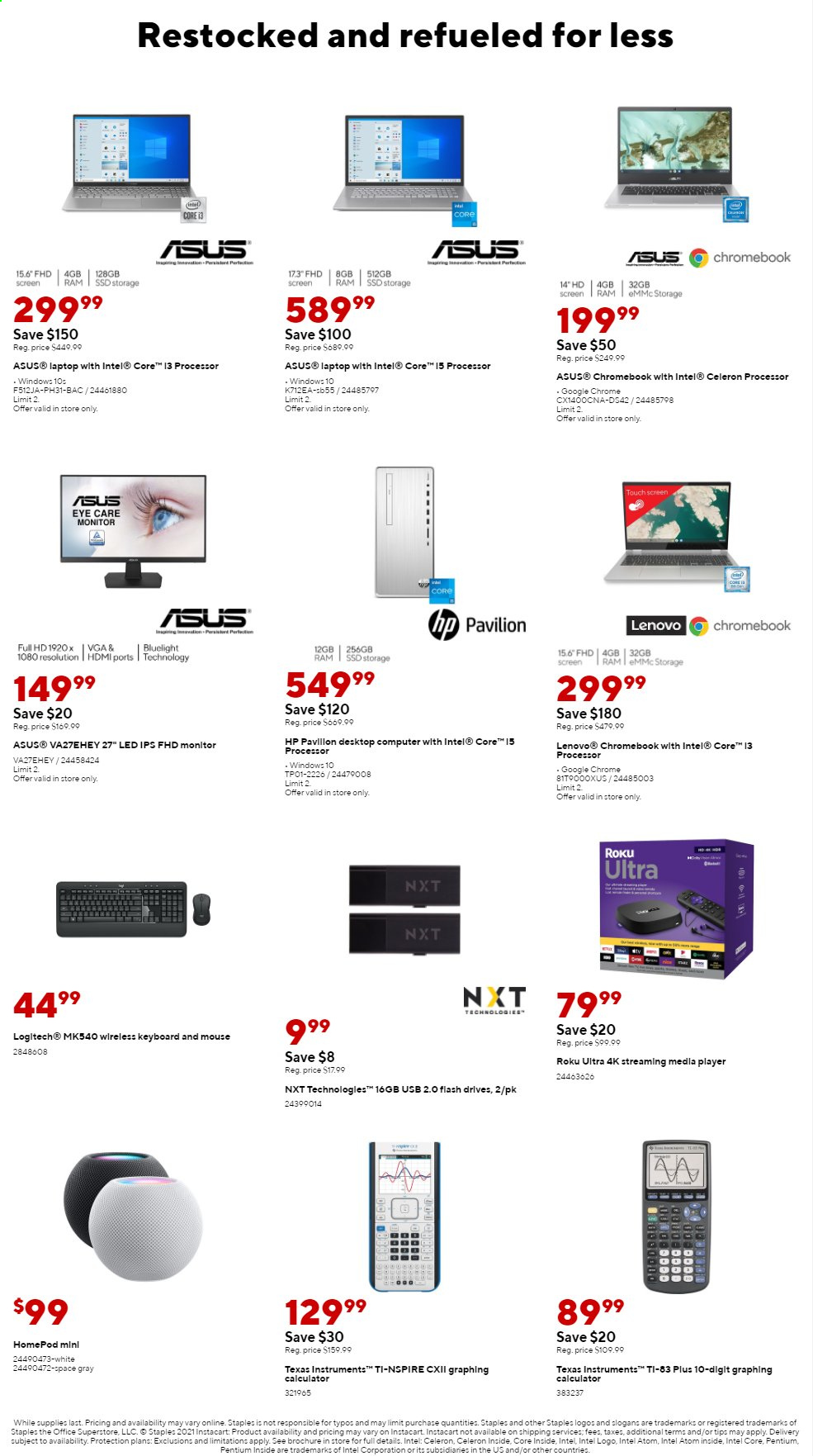 Staples Ad from august 1 to 7 2021 - Page 10