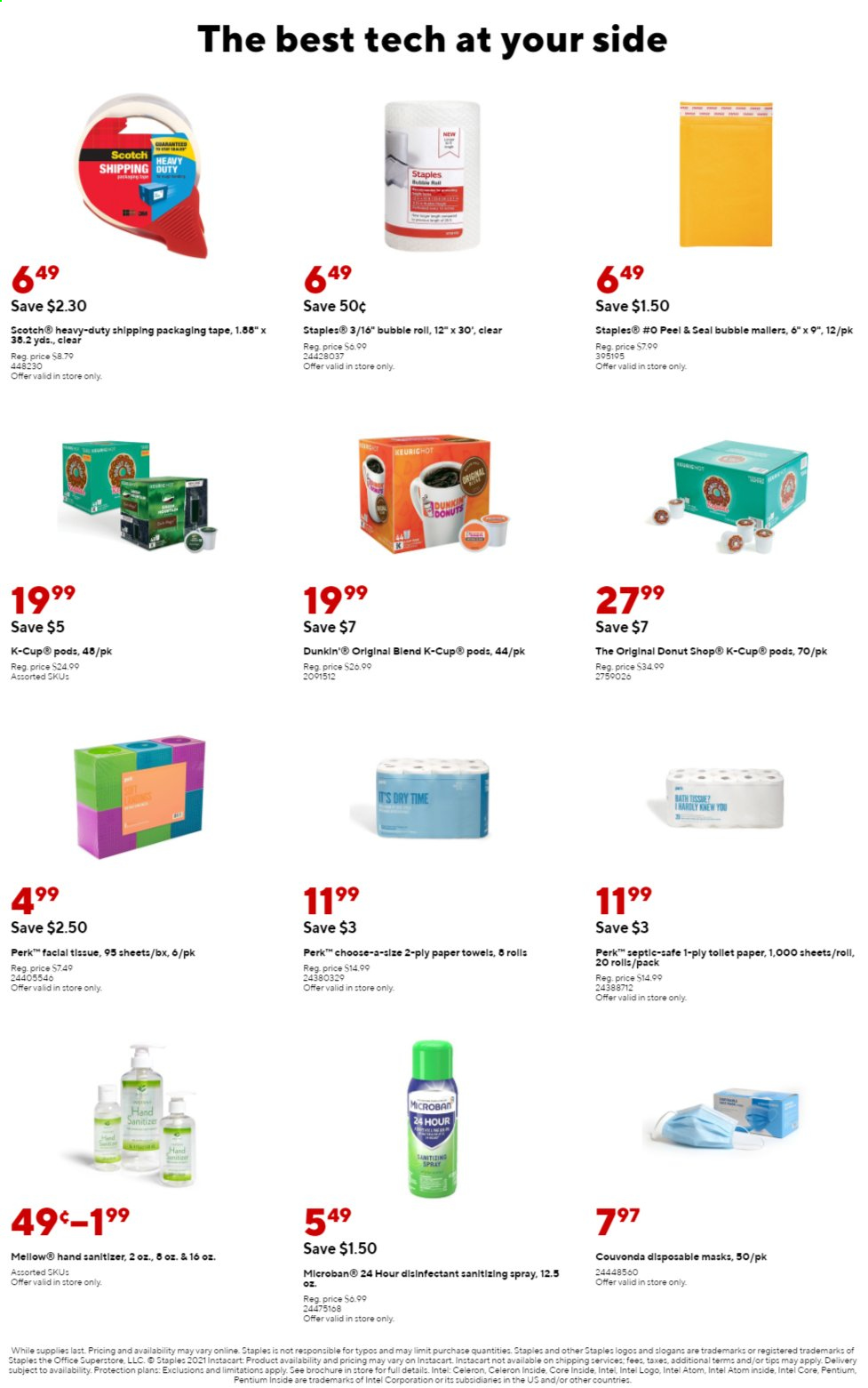Staples Ad from august 1 to 7 2021 - Page 11