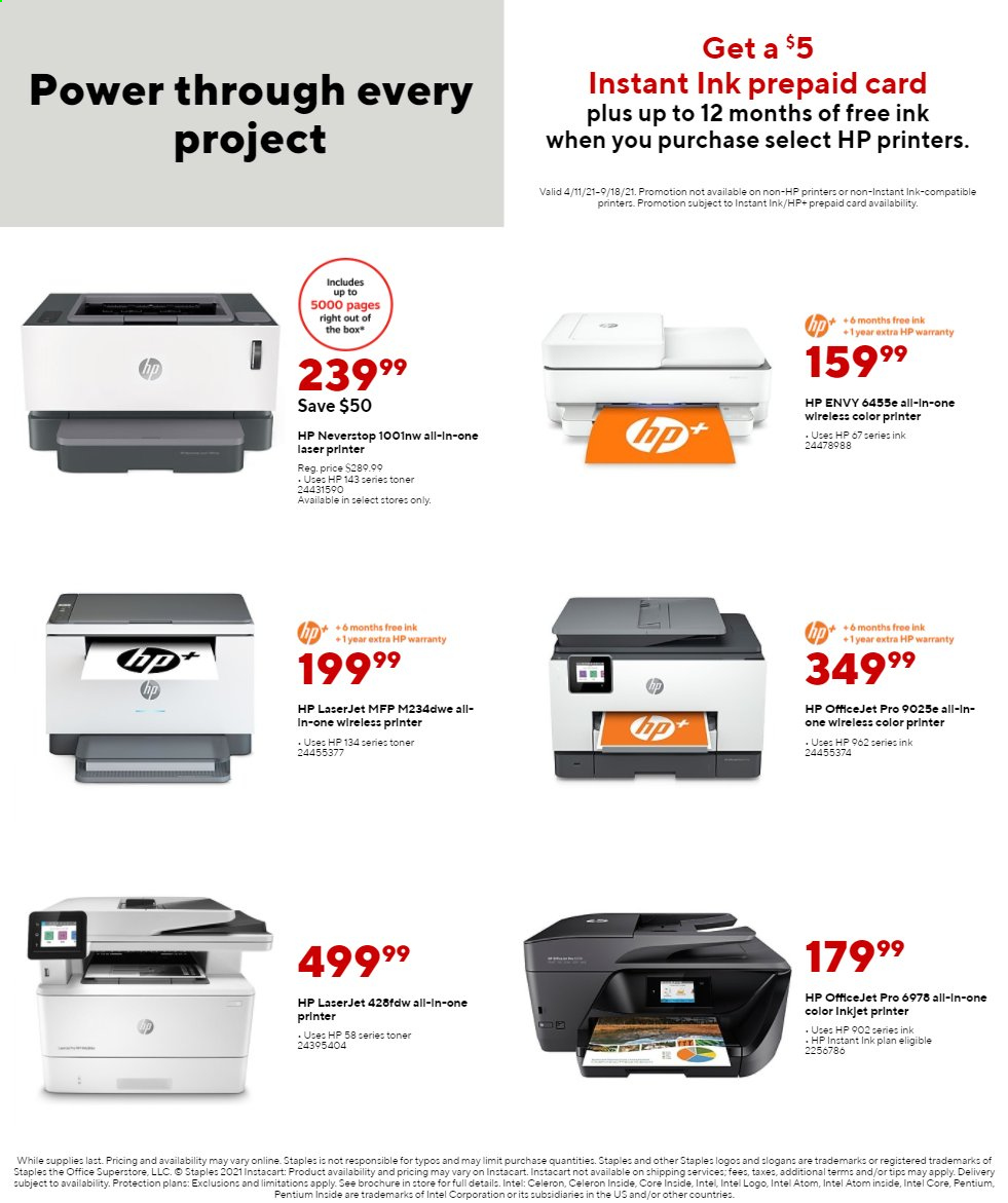 Staples Ad from august 1 to 7 2021 - Page 12