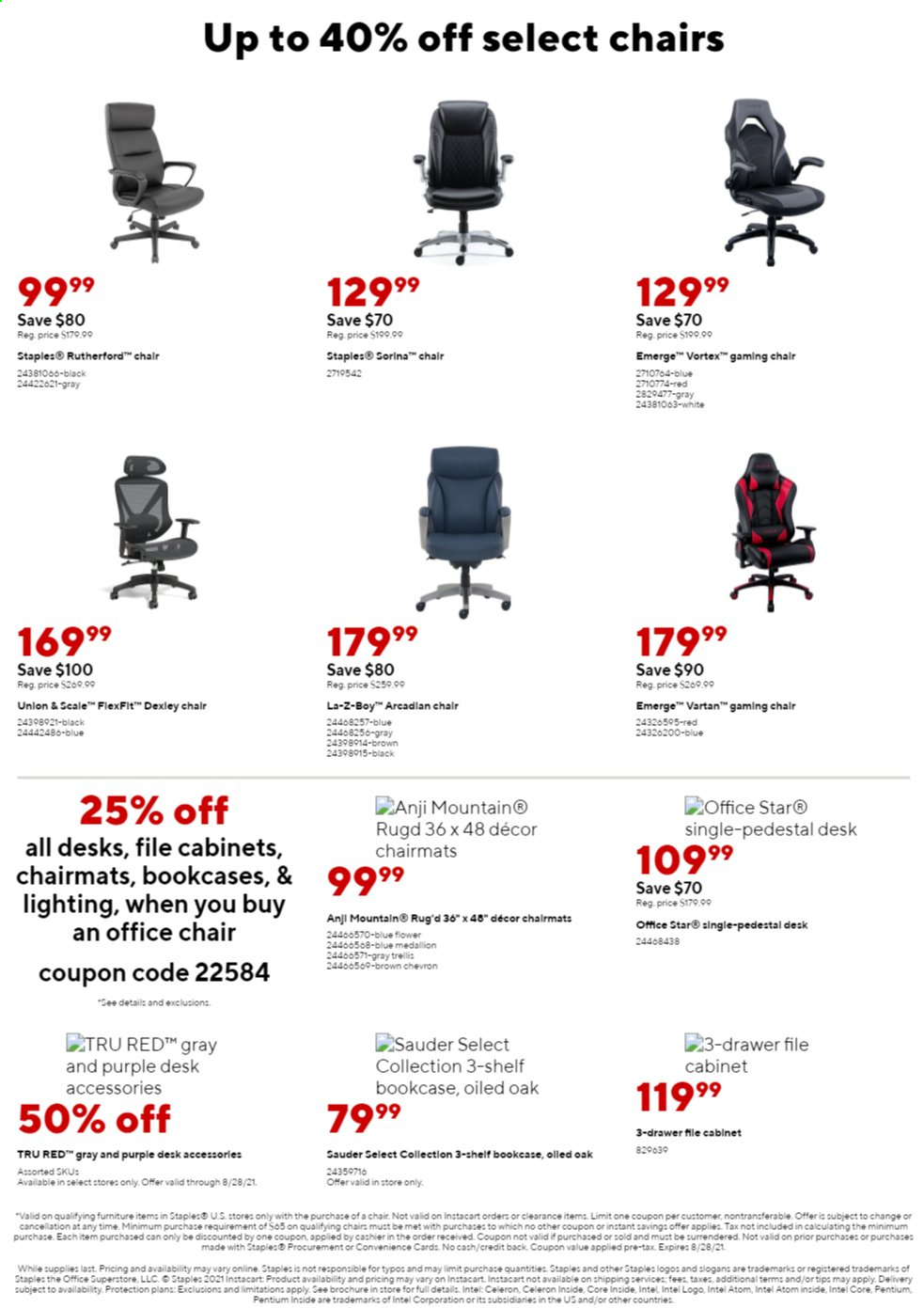 Staples Ad from august 1 to 7 2021 - Page 14