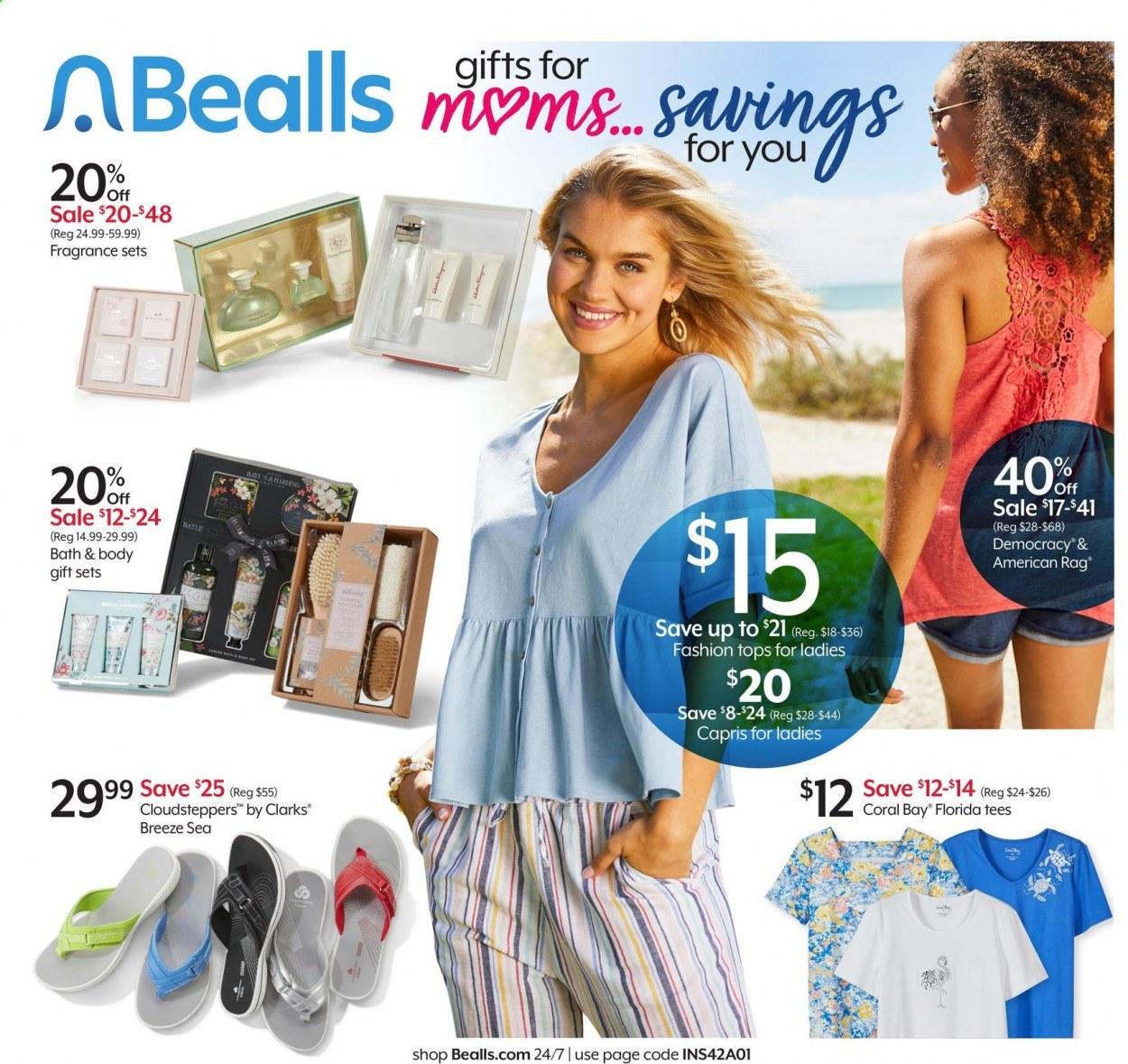 Bealls Florida Ad from may 5 to 11 2021