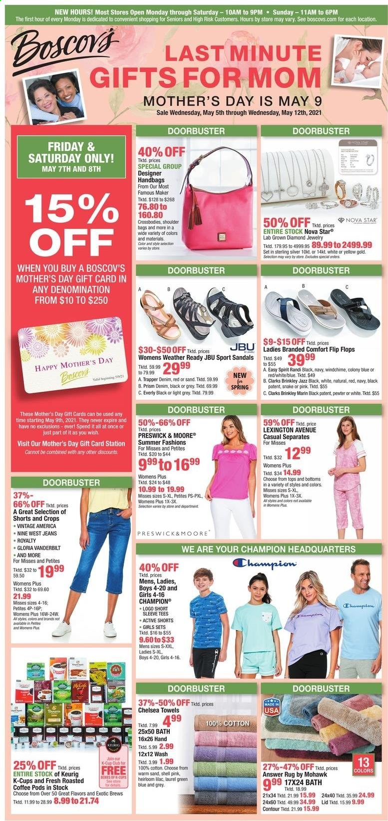 Boscov's Ad from may 5 to 12 2021