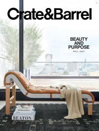 Crate & Barrel Fall 2021 Catalog
