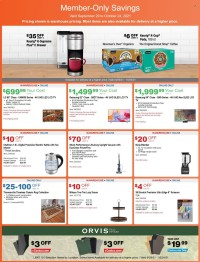 Costco Ad from september 29 to october 24 2021