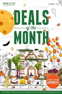Sprouts Farmers Market Deals of the Month - October 2021