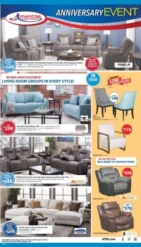 American Furniture Warehouse Ad from october 3 to 17 2021