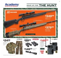 Academy Sports + Outdoors Hunting Ad from october 4 to 24 2021