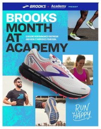 Academy Sports + Outdoors Brooks Ad from october 3 to 30 2021