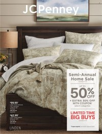 JCPenney Semi-Annual Home Sale from october 4 to 17 2021