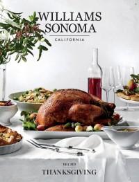 Williams-Sonoma Thanksgiving Catalog