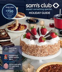 Sam's Club Holiday Guide from october 8 to 17 2021