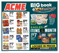 ACME Markets Big Book of Savings from october 8 to november 4 2021
